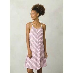 prAna Women's Seacoast Tyree Purple Dress Size L